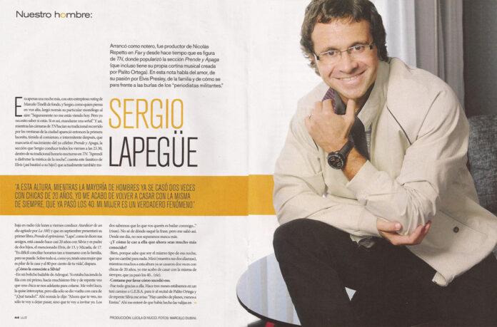 Revista Luz Sergio Lapegue
